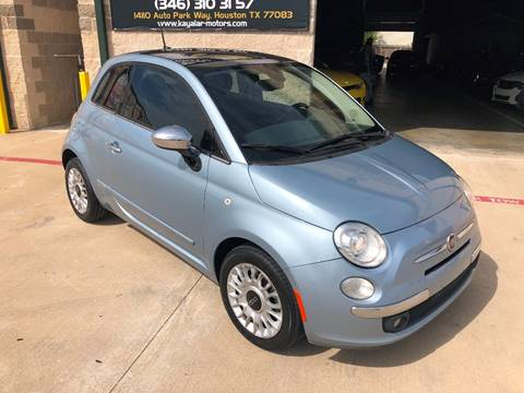 2013 FIAT 500 for sale at KAYALAR MOTORS in Houston TX