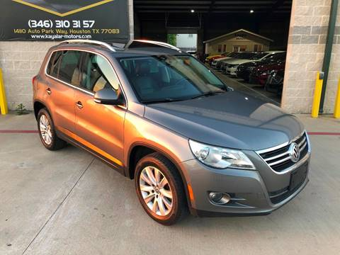 2009 Volkswagen Tiguan for sale at KAYALAR MOTORS in Houston TX