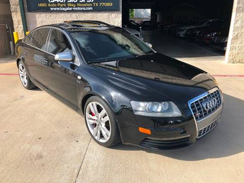 2008 Audi S6 for sale at KAYALAR MOTORS in Houston TX
