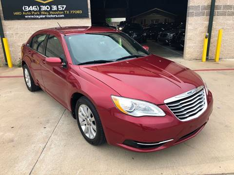 2013 Chrysler 200 for sale at KAYALAR MOTORS in Houston TX