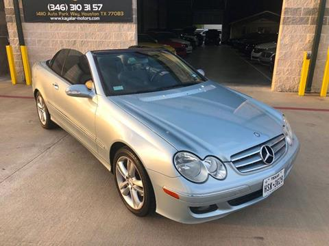 2006 Mercedes-Benz CLK for sale at KAYALAR MOTORS in Houston TX