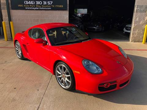 2008 Porsche Cayman for sale at KAYALAR MOTORS in Houston TX