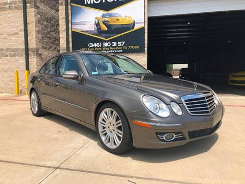2008 Mercedes-Benz E-Class for sale at KAYALAR MOTORS in Houston TX
