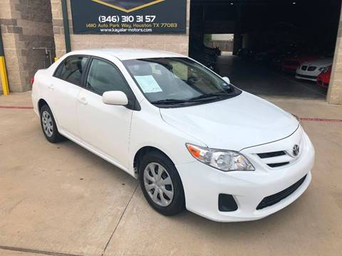 2011 Toyota Corolla for sale at KAYALAR MOTORS in Houston TX