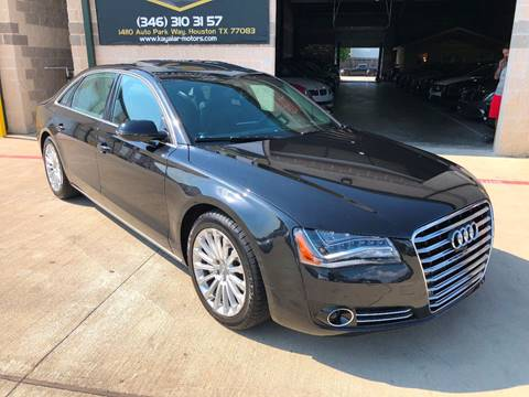 2014 Audi A8 L for sale at KAYALAR MOTORS in Houston TX