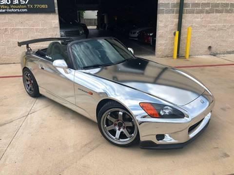 2001 Honda S2000 for sale at KAYALAR MOTORS in Houston TX