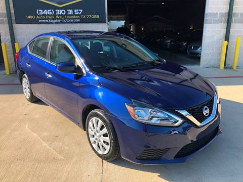 2016 Nissan Sentra for sale at KAYALAR MOTORS in Houston TX