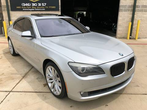 2011 BMW 7 Series for sale at KAYALAR MOTORS in Houston TX