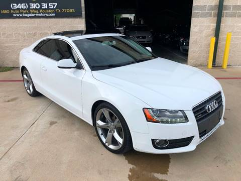 2012 Audi A5 for sale at KAYALAR MOTORS in Houston TX