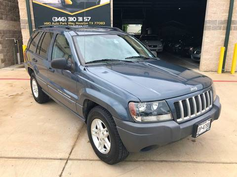2004 Jeep Grand Cherokee for sale at KAYALAR MOTORS in Houston TX
