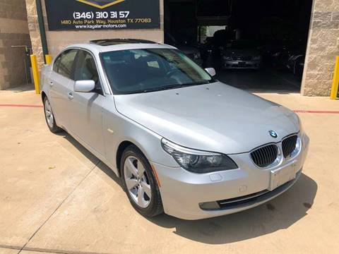 2008 BMW 5 Series for sale at KAYALAR MOTORS in Houston TX