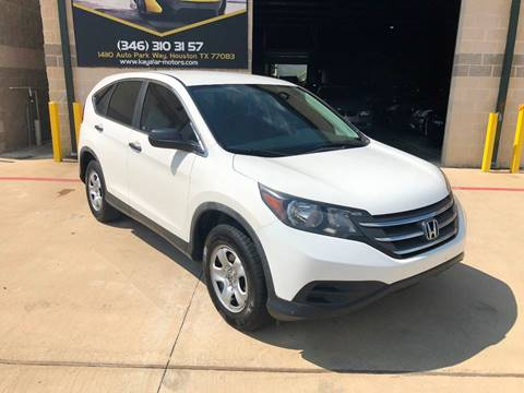 2012 Honda CR-V for sale at KAYALAR MOTORS in Houston TX