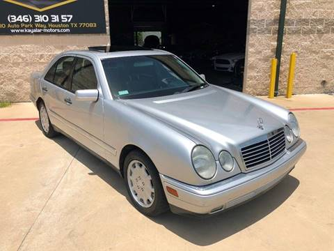 1999 Mercedes-Benz E-Class for sale at KAYALAR MOTORS in Houston TX