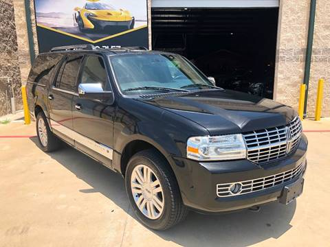 2012 Lincoln Navigator L for sale at KAYALAR MOTORS in Houston TX