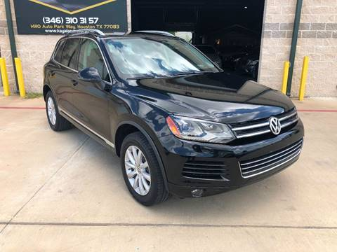 2012 Volkswagen Touareg for sale at KAYALAR MOTORS in Houston TX