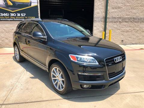 Audi Q7 For Sale in Houston, TX - KAYALAR MOTORS