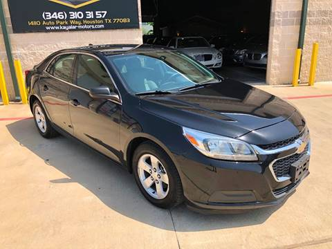 2014 Chevrolet Malibu for sale at KAYALAR MOTORS in Houston TX