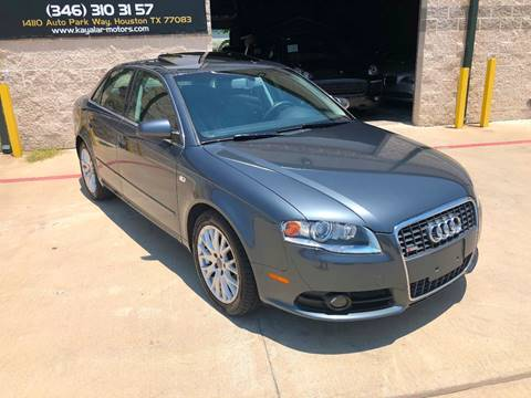 2008 Audi A4 for sale at KAYALAR MOTORS in Houston TX