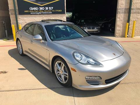 2011 Porsche Panamera for sale at KAYALAR MOTORS in Houston TX