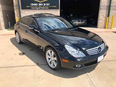 2008 Mercedes-Benz CLS for sale at KAYALAR MOTORS in Houston TX