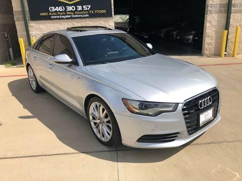 2012 Audi A6 for sale at KAYALAR MOTORS in Houston TX