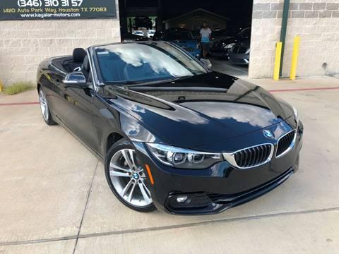 2018 BMW 4 Series for sale at KAYALAR MOTORS in Houston TX