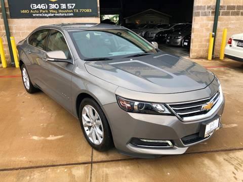 2018 Chevrolet Impala for sale at KAYALAR MOTORS in Houston TX