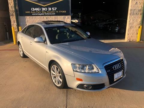 2011 Audi A6 for sale at KAYALAR MOTORS in Houston TX