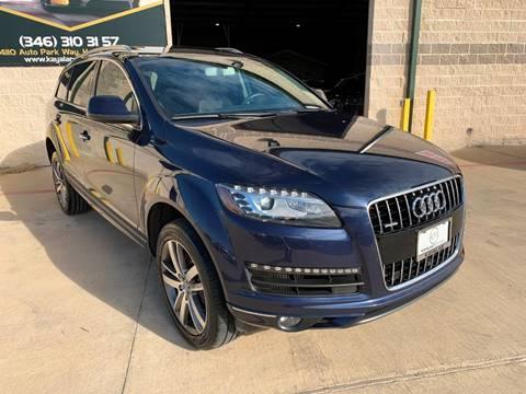 2013 Audi Q7 for sale at KAYALAR MOTORS in Houston TX