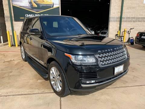 2015 Land Rover Range Rover for sale at KAYALAR MOTORS in Houston TX