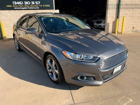 2013 Ford Fusion for sale at KAYALAR MOTORS in Houston TX
