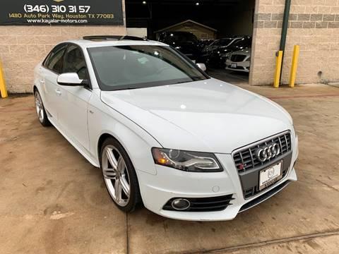 2012 Audi S4 for sale at KAYALAR MOTORS in Houston TX