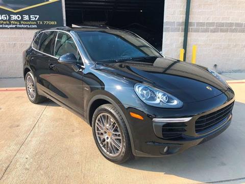 2015 Porsche Cayenne for sale in Houston, TX