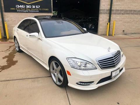 2010 Mercedes-Benz S-Class for sale at KAYALAR MOTORS in Houston TX