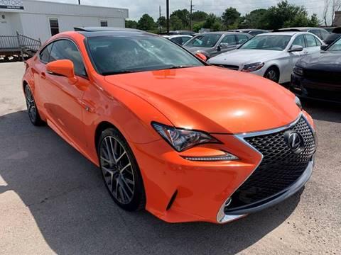 2015 Lexus RC 350 for sale at KAYALAR MOTORS in Houston TX