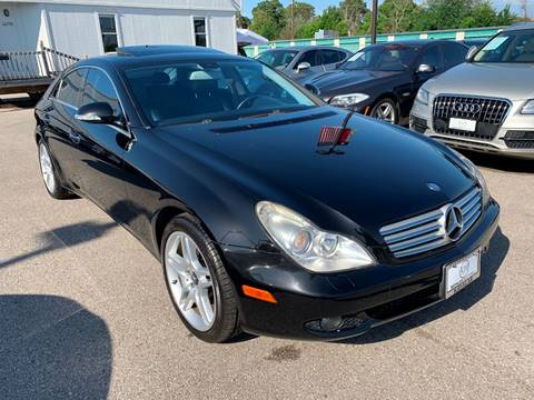 2007 Mercedes-Benz CLS for sale at KAYALAR MOTORS in Houston TX