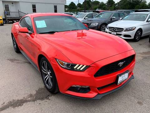 2016 Ford Mustang for sale at KAYALAR MOTORS in Houston TX