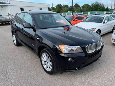 2014 BMW X3 for sale at KAYALAR MOTORS in Houston TX