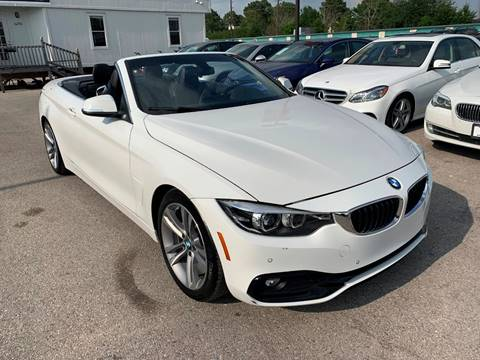 2018 BMW 4 Series for sale at KAYALAR MOTORS in Houston TX