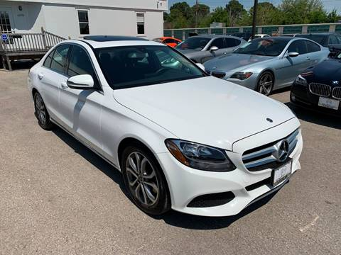 2018 Mercedes-Benz C-Class for sale at KAYALAR MOTORS in Houston TX