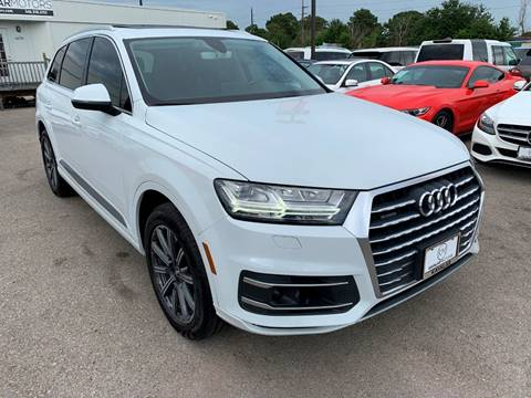 2017 Audi Q7 for sale at KAYALAR MOTORS in Houston TX