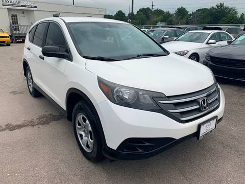 2012 Honda CR-V for sale at KAYALAR MOTORS Garage in Houston TX