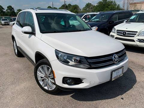 2012 Volkswagen Tiguan for sale at KAYALAR MOTORS in Houston TX