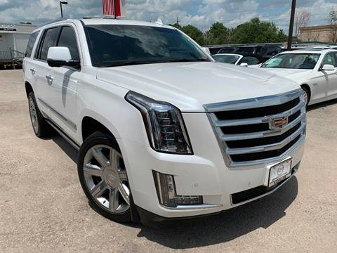 2016 Cadillac Escalade for sale at KAYALAR MOTORS in Houston TX