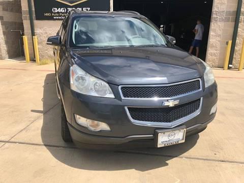2009 Chevrolet Traverse for sale at KAYALAR MOTORS Garage in Houston TX