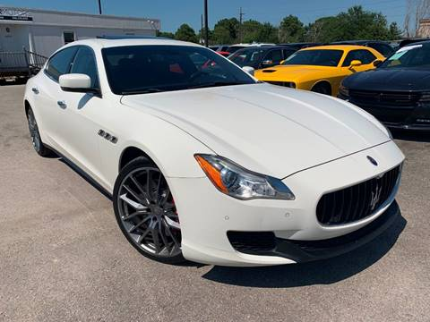 2014 Maserati Quattroporte for sale at KAYALAR MOTORS in Houston TX