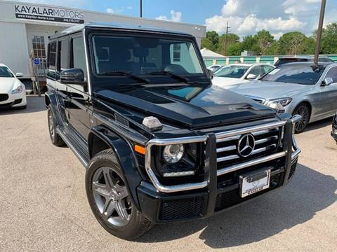 2018 Mercedes-Benz G-Class for sale in Houston, TX
