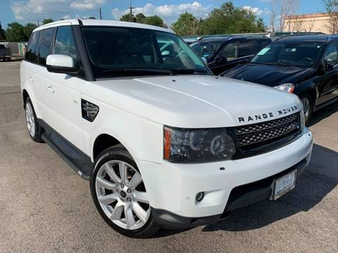2013 Land Rover Range Rover Sport for sale at KAYALAR MOTORS in Houston TX