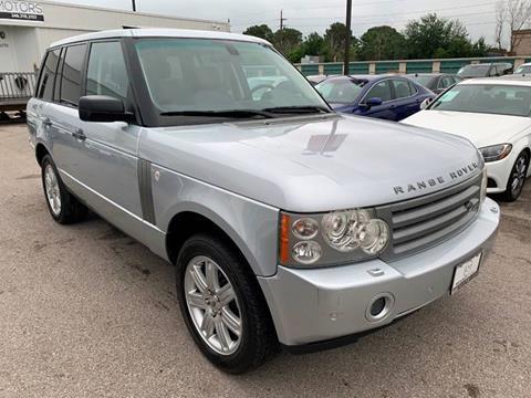2007 Land Rover Range Rover for sale at KAYALAR MOTORS in Houston TX