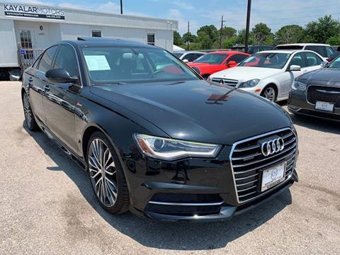 2016 Audi A6 for sale at KAYALAR MOTORS in Houston TX